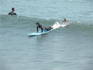サーフィンスクール 練習