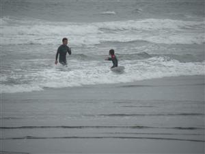 サーフィンスクール 子供